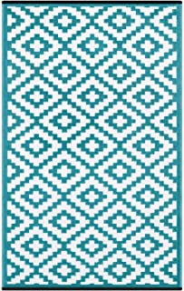Best 6x9 blue outdoor rug Reviews