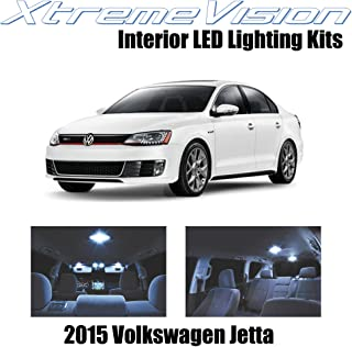 XtremeVision Interior LED for Volkswagen Jetta 2015+ (9 Pieces) Cool White Interior LED Kit + Installation Tool