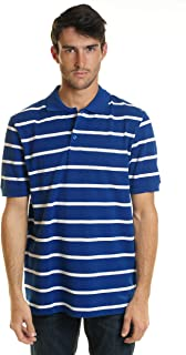 YAGO Men's Relaxed Fit S.S. Cotton Polo Shirts
