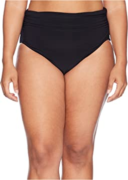 Plus Size Shirred Jersey Bottom