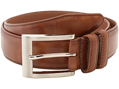 Allen Edmonds Wide Basic Dress Belt (Walnut) Men