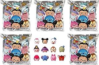 Disney Tsum Series 2, 3D Foam 5 Blind Bags Key Chains, 1 Figure Per Pack