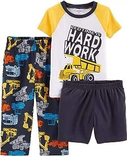 Carter's Boys' 3-Piece Poly Pajama Sets