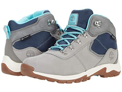 Timberland Mt. Maddsen Mid Leather Waterproof (Grey Nubuck) Women