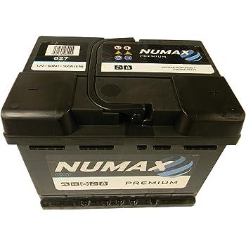 207/x/175/x/190/mm Borne droite Tudor TB500 Exide Technica batterie de voiture 50/Ah 12/V Dimensions/