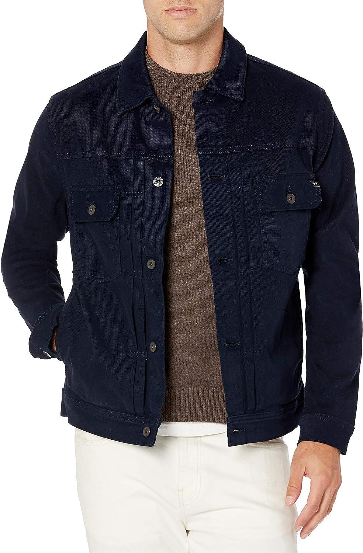 AG Adriano Super popular specialty store Goldschmied Men's Jacket Over item handling ☆ Denim Omaha
