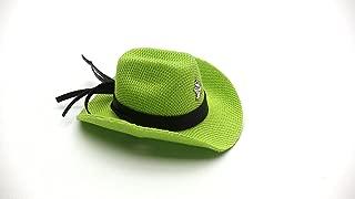 Carolina Designer Dragons' Bearded Dragon Cowboy Hat, Lime Green