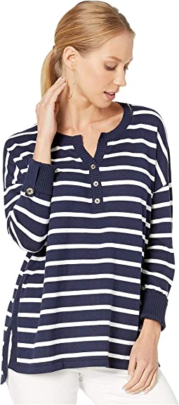 True Navy Moonlight Stripe