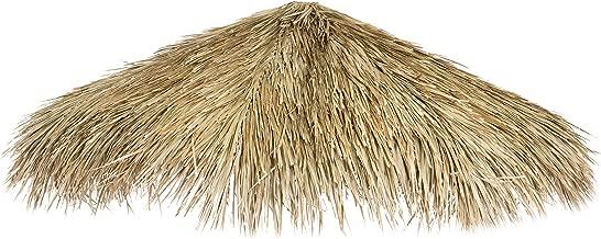Backyard X-Scapes Mexican Palm Thatch Umbrella, 9ft D