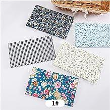 DIY 25x25cm / pc Gedrukt katoenen patchwork Stof bloemen quilten stoffen voor naaien poppen handgemaakte ambachten accesso...
