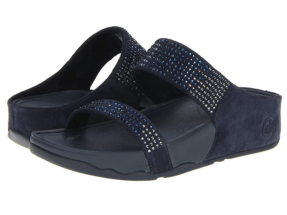 3b86d5879097b UPC 883945329777 product image for FitFlop Flare Slide Leather (Supernavy  Leather) Women s Sandals ...