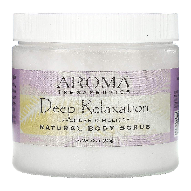 Aroma New York Mall Therapeutics Deep Elegant Relaxation Natural Lavender Body Scrub -