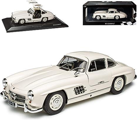 Mercedes Benz 300sl Sl Klasse Coupe Weiss W198 1954 1963 Flügeltürer Limitiert 300 Stück 1 18 Minichamps Modell Auto Mit Individiuellem Wunschkennzeichen Spielzeug