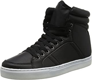 Ajvani Mens Hi-Top Ankle Boots Sneakers Size