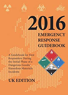 2016 Emergency Response Guidebook - UK Edition