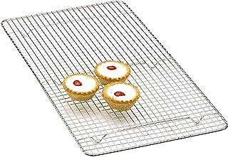 Kitchen Craft Grille de Refroidissement pour gâteaux rectangulaire Chromé 46 x 25 cm