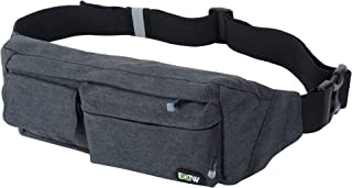 EOTW Fanny Pack Waist Bag Travel Pocket Chest Shoulder Bag Running Belt with Separate..