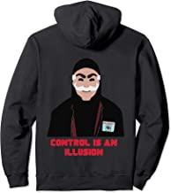 Tee Mr Mask Robot Control Is An Illusion Fuck E Corp Hacked Pullover Hoodie