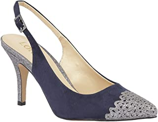 1811ad6eac3a Lotus 50796-70 ARLIND Navy Multi Womens high-Heeled Shoes