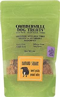 Camberville Dog Treats, Dog Treat Sweet Potato & Peanut Butter, 5 Ounce