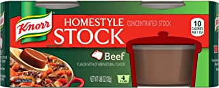 Knorr Homestyle Stock, Beef, 4 count, net : 4.66 oz