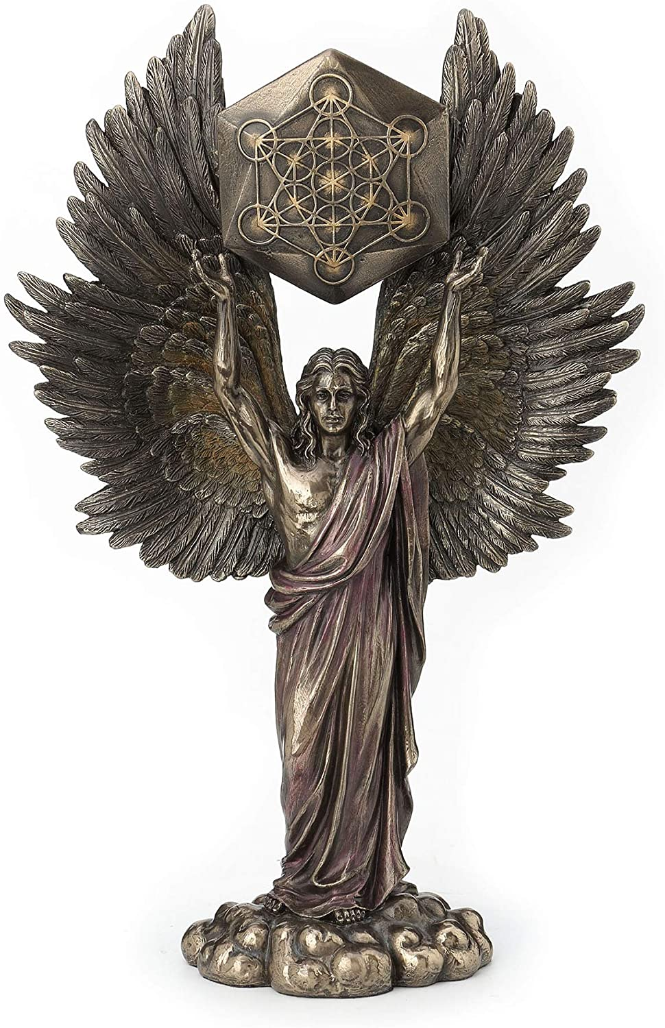 Veronese Design Archangel Metatron Holding Tucson Mall Cu Sacred Up New products, world's highest quality popular! Geometry