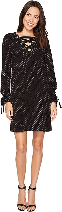 MICHAEL Michael Kors - Starbright Lace-Up Dress