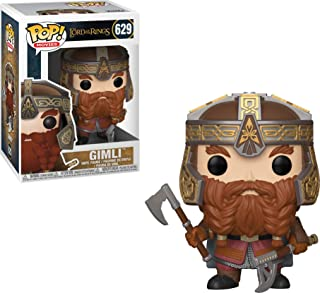 Funko Pop Movies: Lord of The Rings - Gimli Collectible Figure, Multicolor