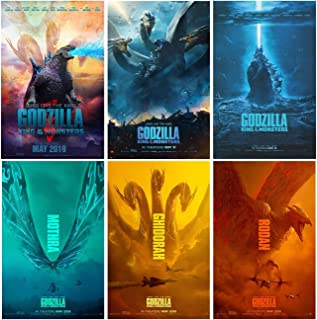 Set of 6 Godzilla (2019, King of The Monsters) 11