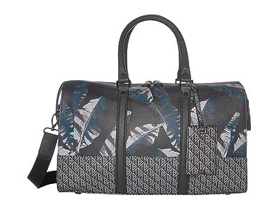 Ted Baker Gelada Printed PU Holdall (Navy) Duffel Bags
