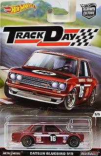 2016 Hot Wheels Car Culture Track Day 5/5 - Datsun Bluebird 510 [Maroon]