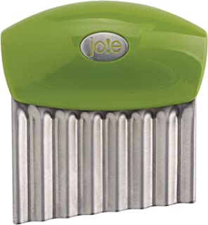Joie Fruit And Vegetable Wavy Chopper Knife, Stainless Steel Blade, Colors Vary
