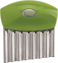 Joie Fruit And Vegetable Wavy Chopper Knife Stainless Steel Blade (Colours may vary)