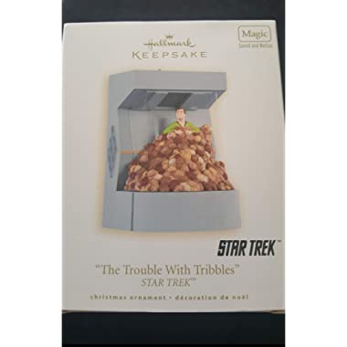 """""""The Trouble with Tribbles"""" 2008 Hallmark Keepsake Ornament"""
