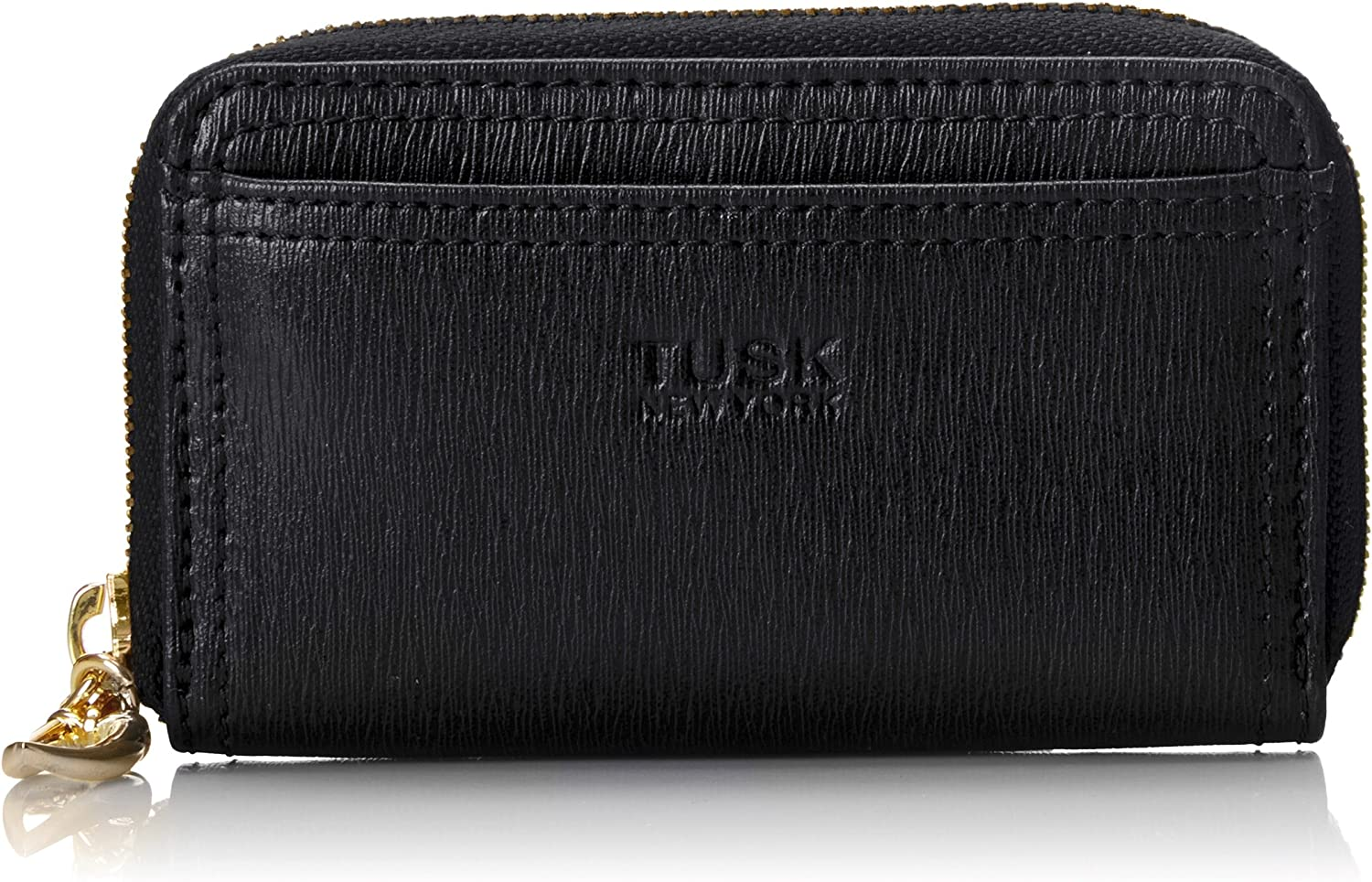 Tusk Madison Zip Coin Card Key Case Wallet