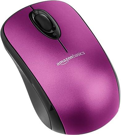 AmazonBasics - Mouse ottico senza fili con microricevitore, Viola - Confronta prezzi