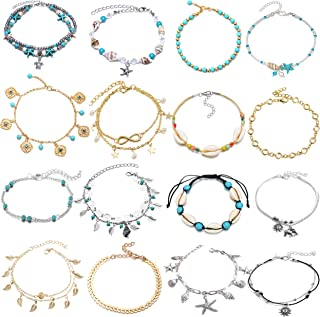 Best silver ankle chain Reviews