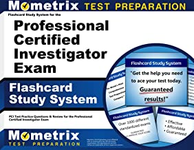 Flashcard Study System for the Professional Certified Investigator Exam: PCI Test Practice Questions & Review for the Professional Certified Investigator Exam (Cards)