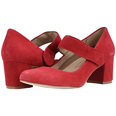 Walking Cradles Jackie-2 (Red Kid Suede) Women