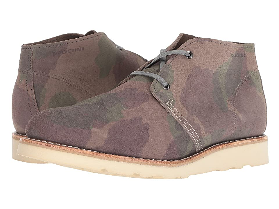 Wolverine Heritage Liam Chukka (Camo Suede) Men's Lace up casual Shoes