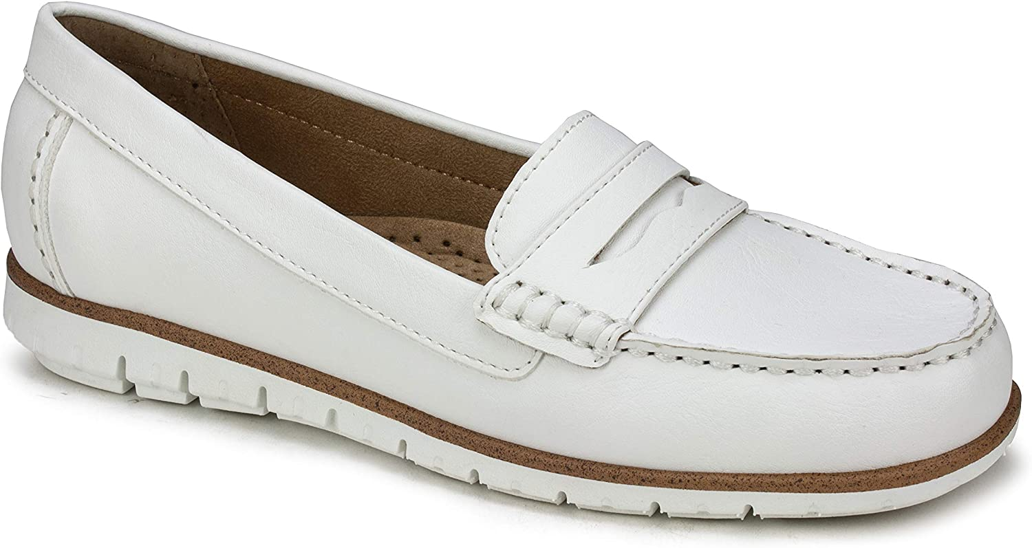 Max 69% OFF WHITE MOUNTAIN Women's Penny Brianna Loafer Free shipping