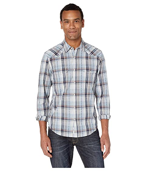 a4311ac930 Lucky Brand Long Sleeve Santa Fe Western Shirt at Zappos.com
