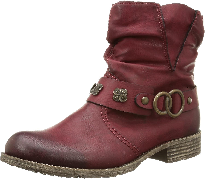 Rieker Women's Peggy 98 Boot Red