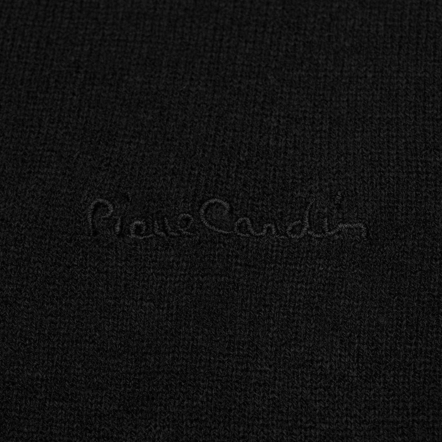 Pierre Cardin Maglione lavorato a maglia con scollo a V e inserto con il colletto di camicia