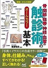 表紙: 運動・からだ図解 骨・関節・靱帯・神経・血管の触診術の基本 | 齋藤昭彦