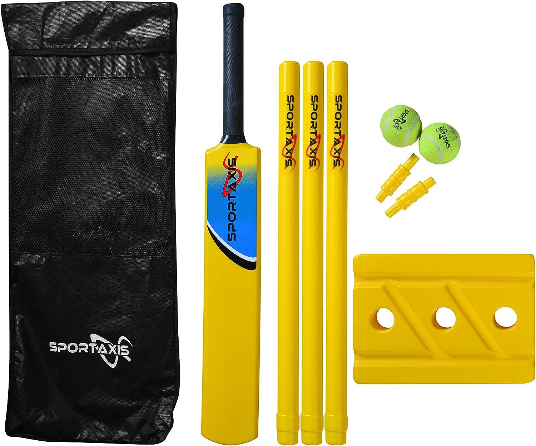 SPORTAXIS Premium Brand new Backyard Cricket Set- Max 82% OFF Beach Cricket- Bat Ball