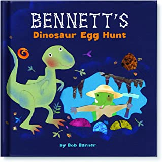 Personalized Children's Book About Dinosaurs
