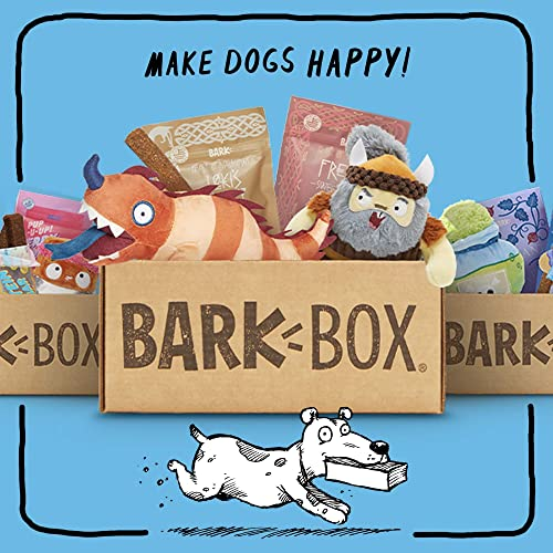 BarkBox - Dog Chew Toys, Dog Treats, Dental Chews, Dog Supplies Themed Monthly Box