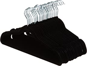 AmazonBasics Velvet Suit Hangers - Black (Set of 30)