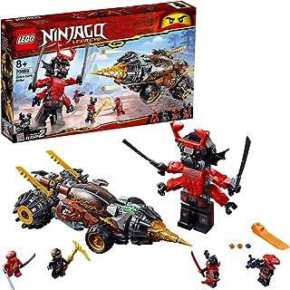 LEGO Ninjago Legacy Cole's Earth Driller Building Kit, Multi-Colour, 70669
